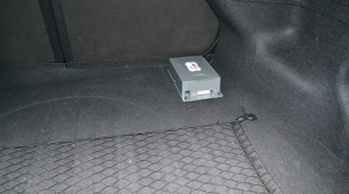 Data Acquisition System (DAS) in the boot